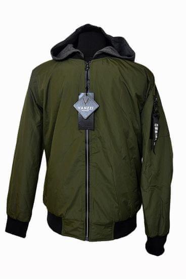 Vanzzi Moška prehodna jakna - zelena
