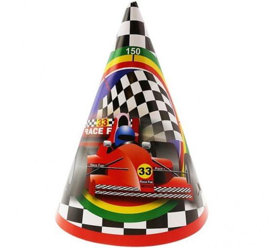 """GoDan Czapeczki papierowe """"Formula 1""""- 6szt"""
