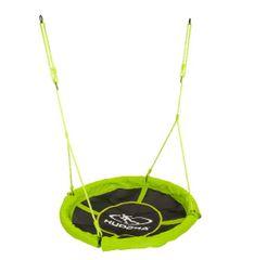 Hudora viseča gugalna mreža, 110 cm, zelena