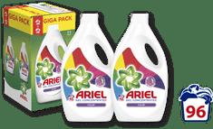 Ariel tekoči pralni prašek Color, 2 x 2,64 L