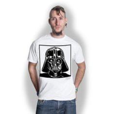 Tričko Star Wars - Darth Vader unisex bílé