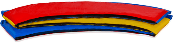 Aga 500 cm (16 ft) trikolór színű trambulinra rugótakaró