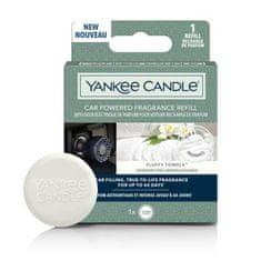 Yankee Candle náhradní náplň do difuzéru do zapalovače auta, vůně Fluffy Towels