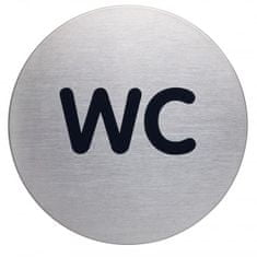 Durable Piktogram WC text