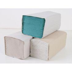 Economy Papierové utierky skladané recyklované ZZ 1-vrstvové zelené (20bal.)