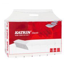 Katrin Papierové utierky skladané ZZ 2-vrstvové Classic Handy pack biele