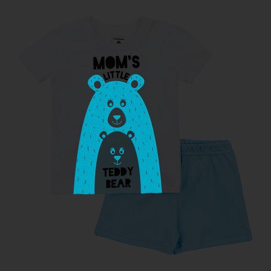 Garnamama Neon Summer otroška pižama, ki se sveti v temi