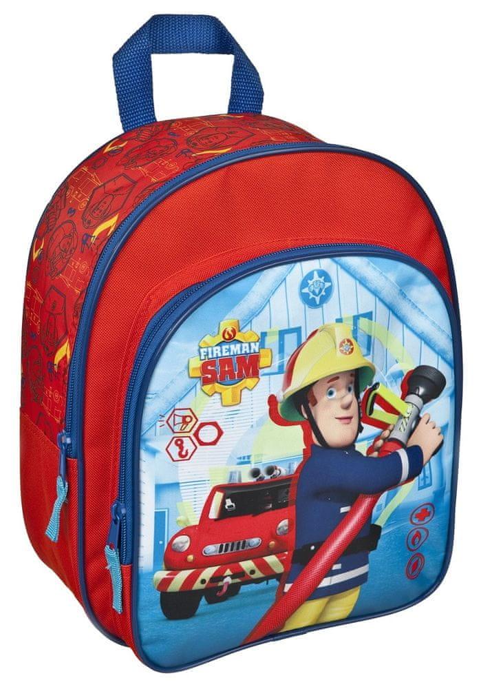 Karton P+P Dětský předškolní batoh Fireman Sam