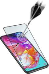 CellularLine Ochranné tvrdené sklo pre celý displej Capsule pre Samsung Galaxy A71 TEMPGCABGALA71K, čierne