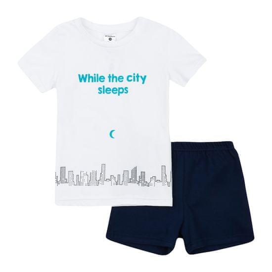Garnamama Neon Summer gyermek pizsama sötétben világító nyomtatott mintával
