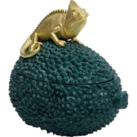 KARE Dekorativní dóza Chameleon 20cm