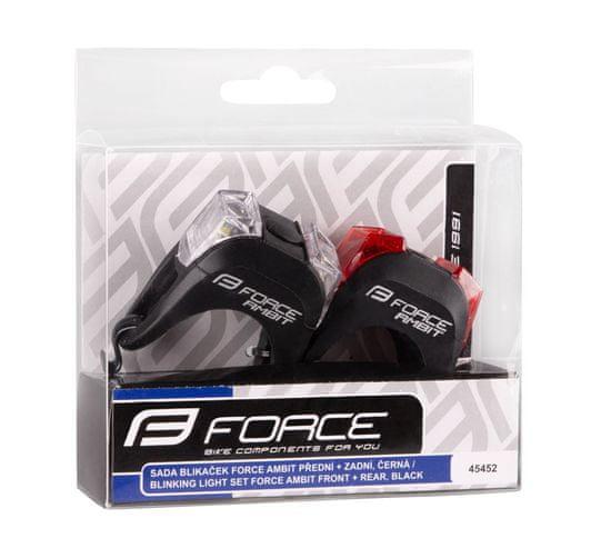 Force Sada blikaček AMBIT bateriové (přední + zadní)