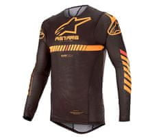 Alpinestars dres Supertech black/orange/red/fluo vel. M