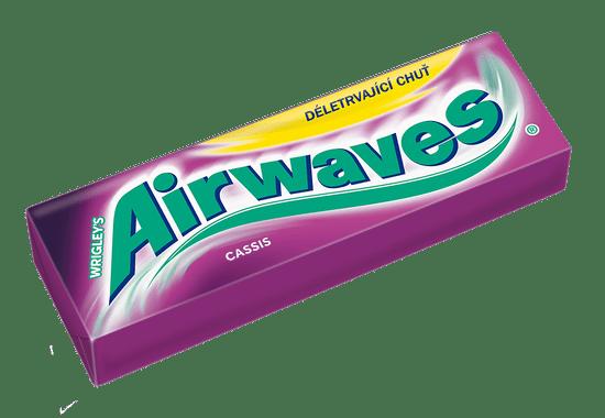 Airwaves žuvačky Cassis dražé 30x 14g