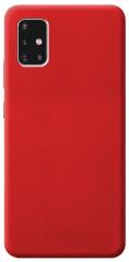 CellularLine Ochranný silikónový kryt SENSATION pre Samsung Galaxy A71 SENSATIONGALA71R, červený