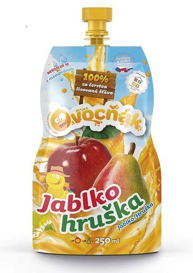 Ovocňák MOŠT JABLKO-HRUŠKA 12x250ml
