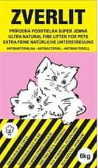 Zverlit Super jemná prírodná podstielka bez vône pre mačky 6 kg - ružová
