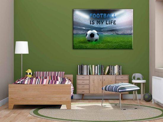 Dalenor Detský obraz Futbalový štadión, 120x80 cm