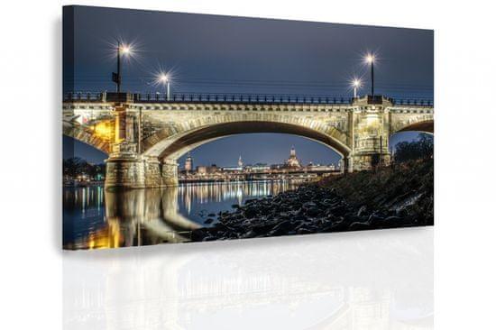 Dalenor Obraz Nočné Drážďany, 150x100 cm