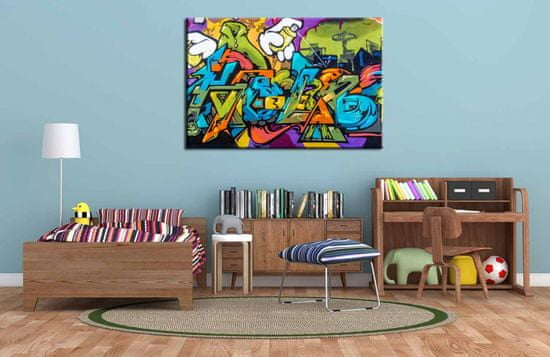 InSmile Obraz street art Velikost: 120x80 cm