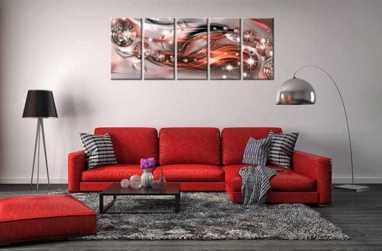InSmile Obraz ohnivý dech Velikost: 100x40 cm