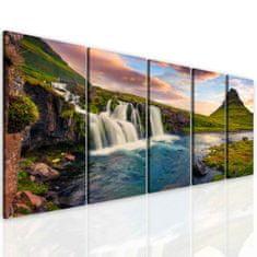 InSmile Obraz vodopády Velikost: 150x100 cm