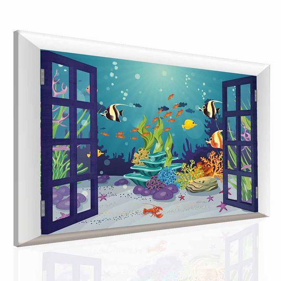 Dalenor Detský obraz Podmorský svet, 60x40 cm