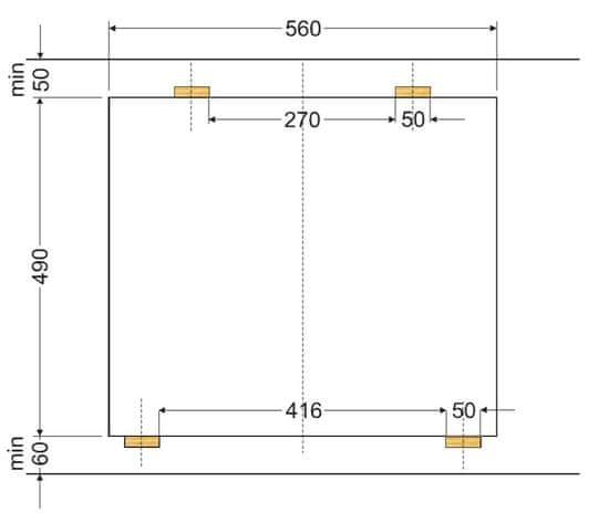 Amica sklokeramická deska DS 6412 B