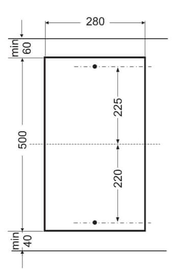 Amica plynová varná deska DDPS 3201 LZBG
