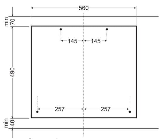 Amica plynová varná deska DP 6411 LZBG