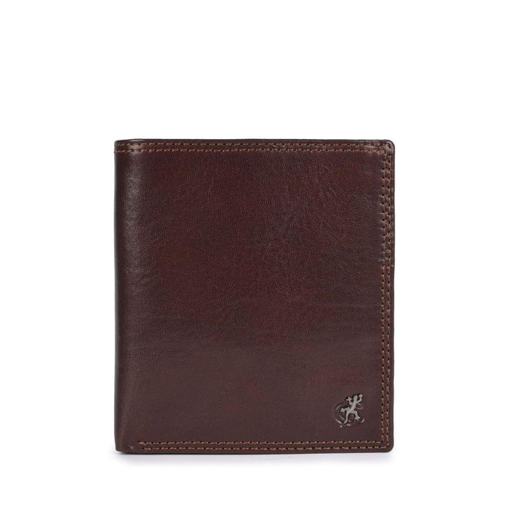 COSSET hnědá pánská peněženka 4506 Komodo H