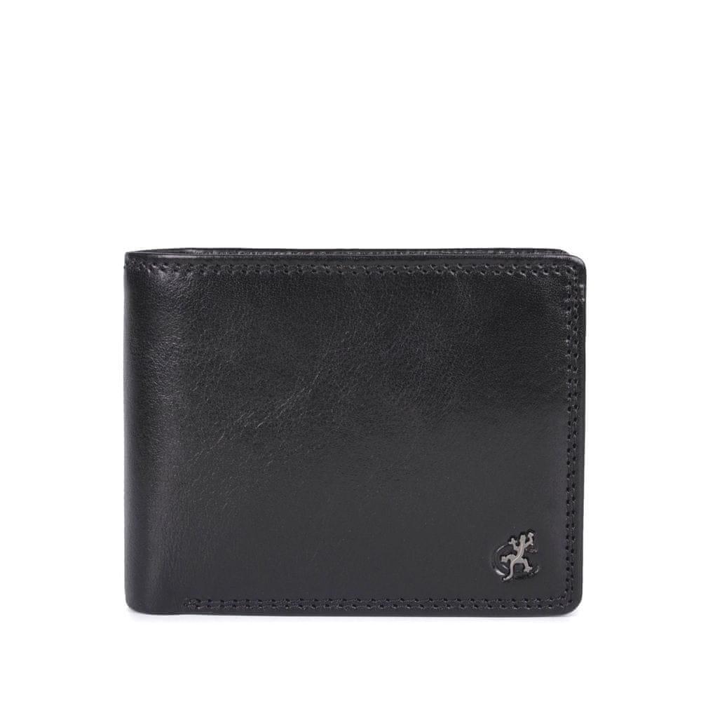 COSSET černá pánská peněženka 4505 Komodo C