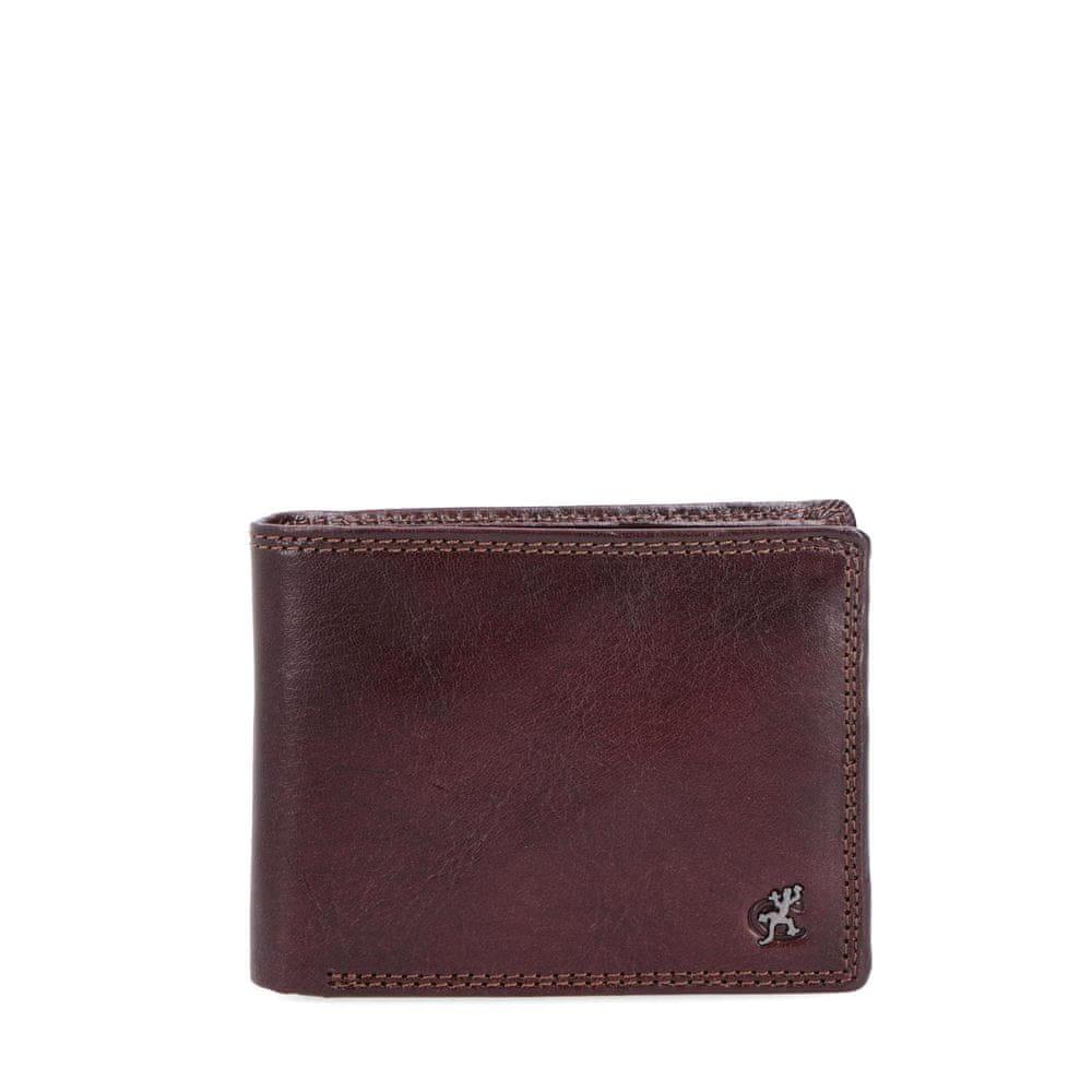 COSSET hnědá pánská peněženka 4471 Komodo H
