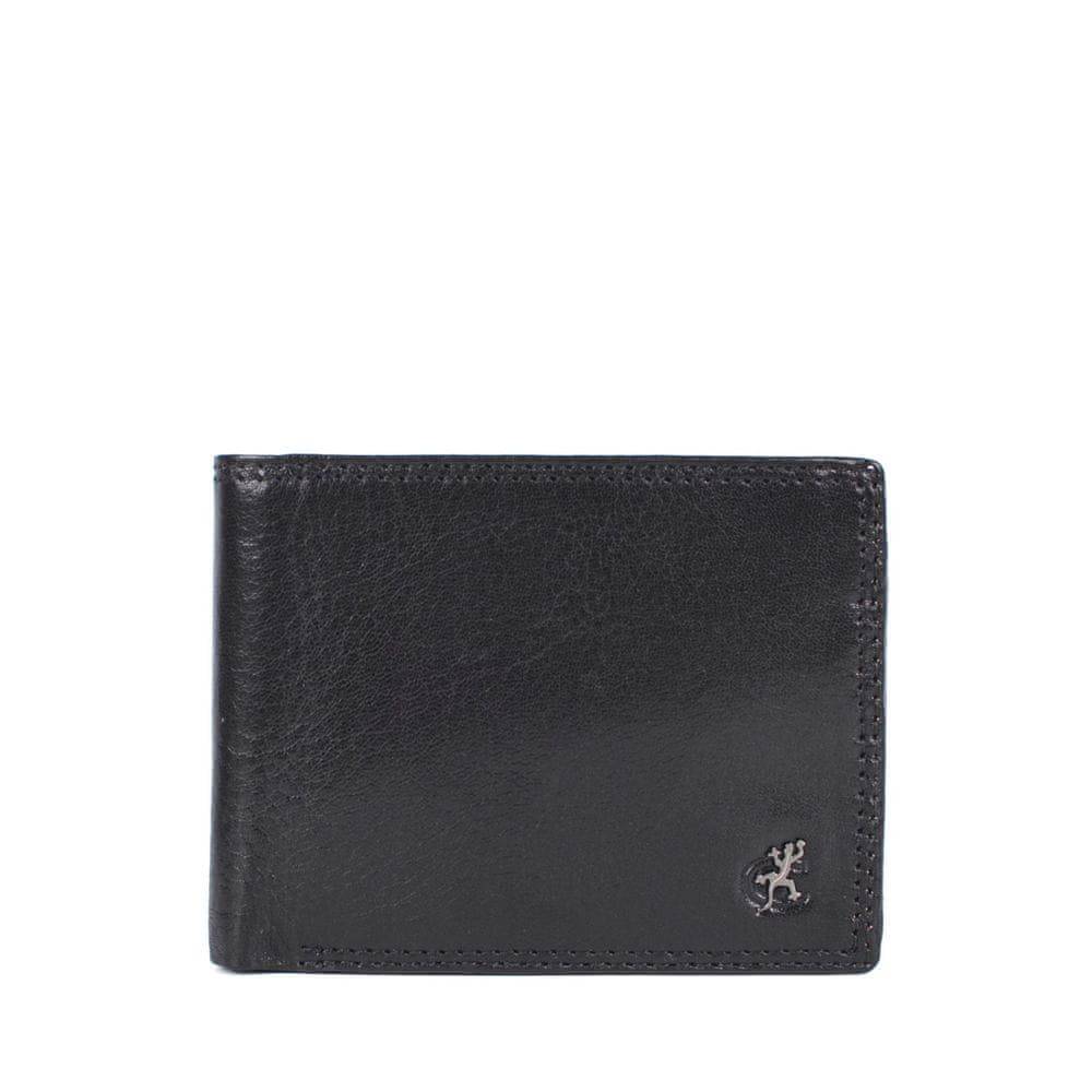 COSSET černá pánská peněženka 4503 Komodo C