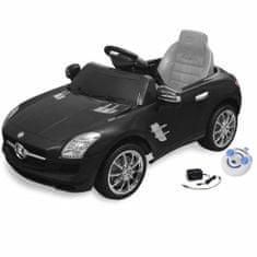 shumee Električni avtomobil Mercedes Benz SLS AMG črn 6V z daljincem