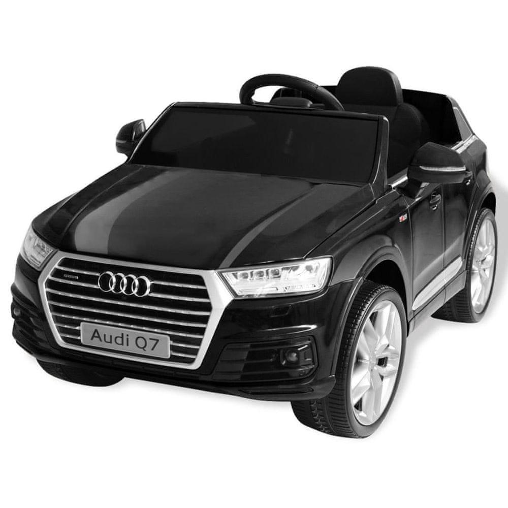 Elektrické dětské auto Audi Q7 černé 6 V