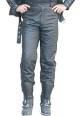 Bikersmode kalhoty KP kožené na chopper barva: černá, Velikost: 50