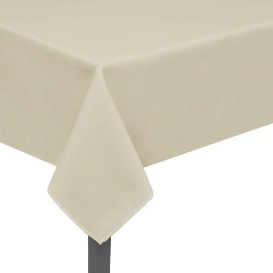 shumee 5 db 170x130 cm krém asztalterítő
