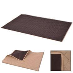 shumee Koc piknikowy beżowy i brązowy, 100x150 cm