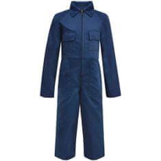shumee Dziecięcy kombinezon roboczy, rozmiar 146/152, niebieski