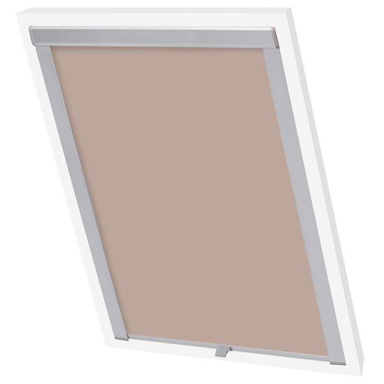 slomart Senčilo za zatemnitev okna bež PK06