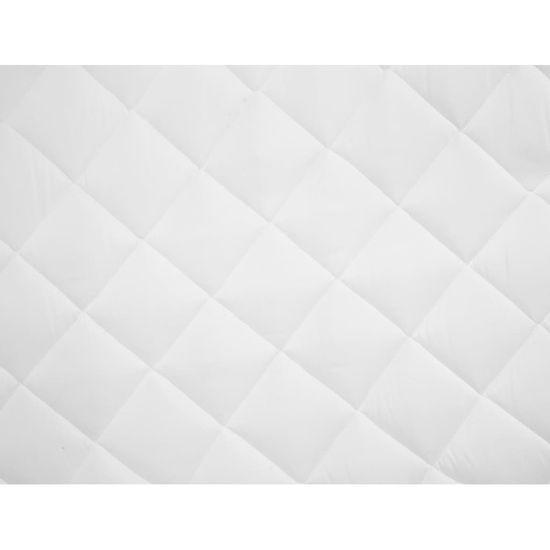 shumee Prešita zaščita za vzmetnico bela 180x200 cm poletna