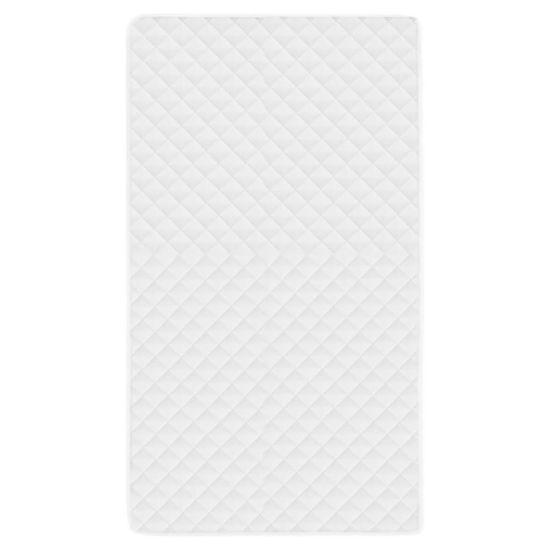 shumee Prešita zaščita za vzmetnico bela 120x200 cm zimska