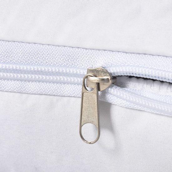 shumee Poszewki ochronne na poduszki, 2 szt., 80 x 80 cm, białe