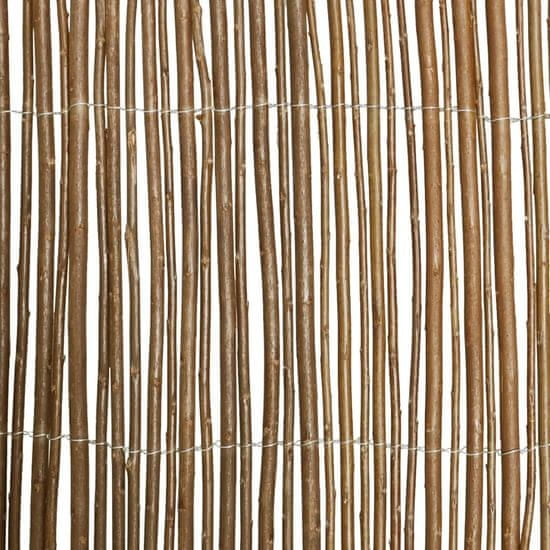 shumee Ogrodzenie z wierzby, 500 x 150 cm
