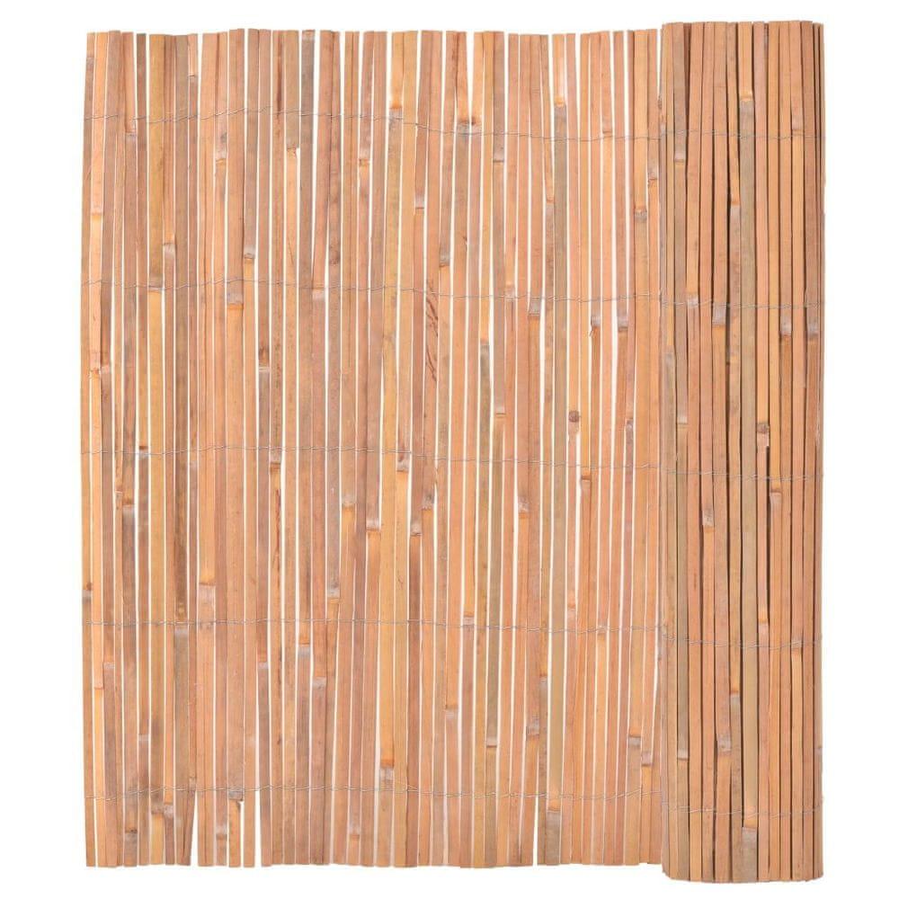 shumee Bambusový plot 150x400 cm