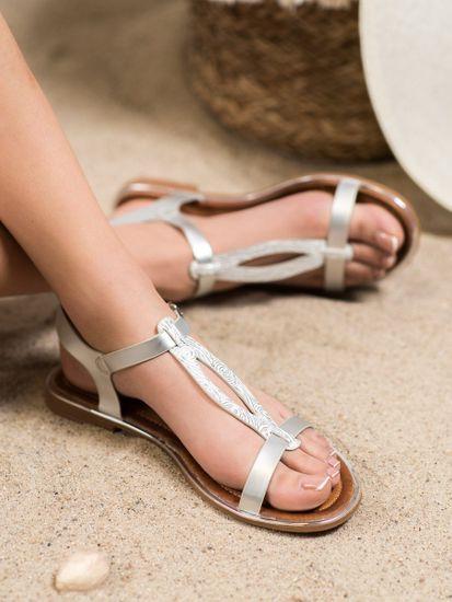 Sandały damskie 63245 + Skarpetki Gatta Calzino Strech