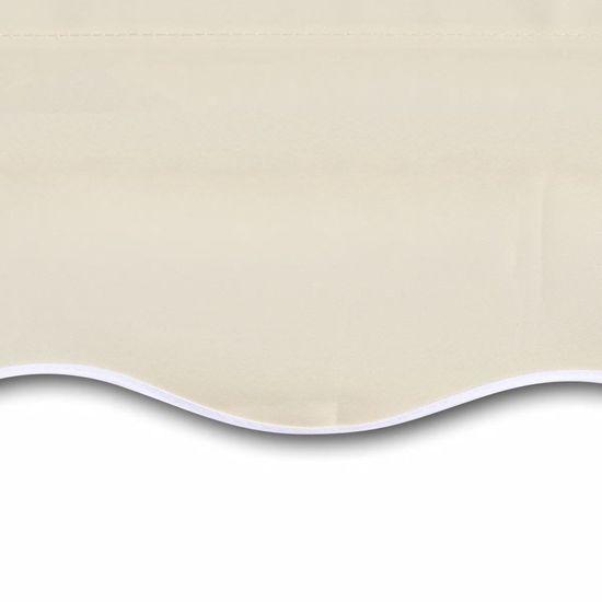 slomart Tenda iz platna krem 6x3 m (brez okvirja)