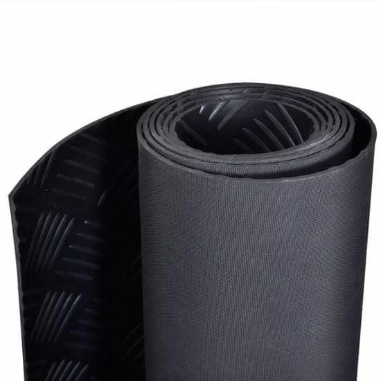shumee Gumená protišmyková podložka, 2 x 1 m, ryhovaný povrch