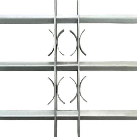 shumee Nastavljiva okenska rešetka s 3 prečkami 700-1050 mm